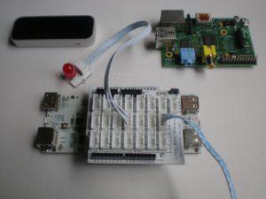 pcDuino with LinkSprite shields, Raspberry Pi, pcDuino