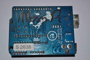 Arduino #(6)2638 signed by THE Massimo