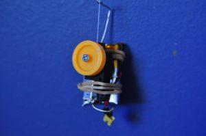 Thread climbing motor
